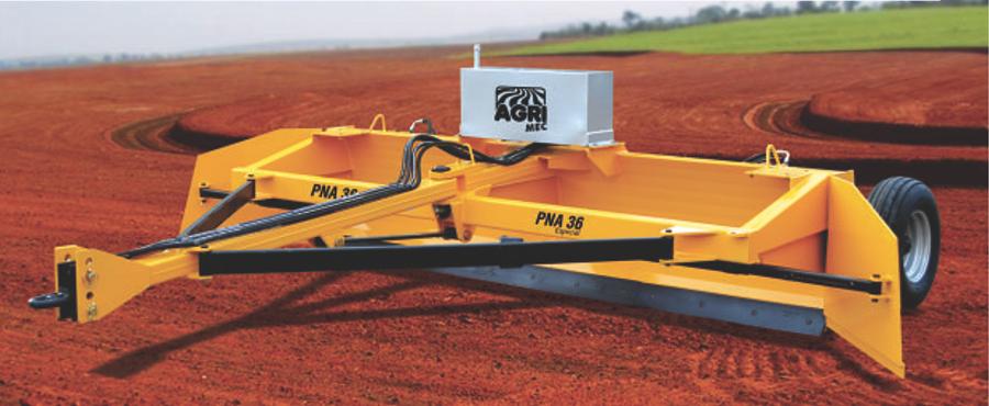 Niveladora a laser Agrimec PNA36 Especial