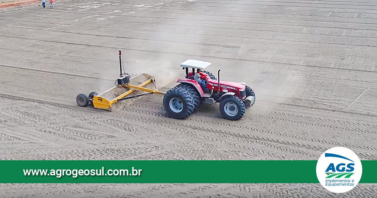 Plainas Niveladoras a laser AGRIMEC